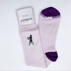 "Soxfords ""The Zealous Zombie"" Dress Socks"